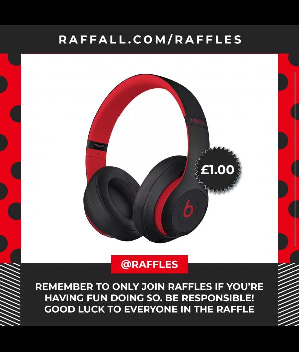 Enter Raffle To Win New Beats By Dre Studio 3 Wireless Over Ear Headphone Hosted By Raffles