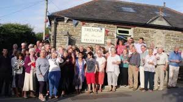 Charity Donation Trevone Village Hall