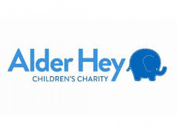 Charity Donation Alder Hey Children's Charity
