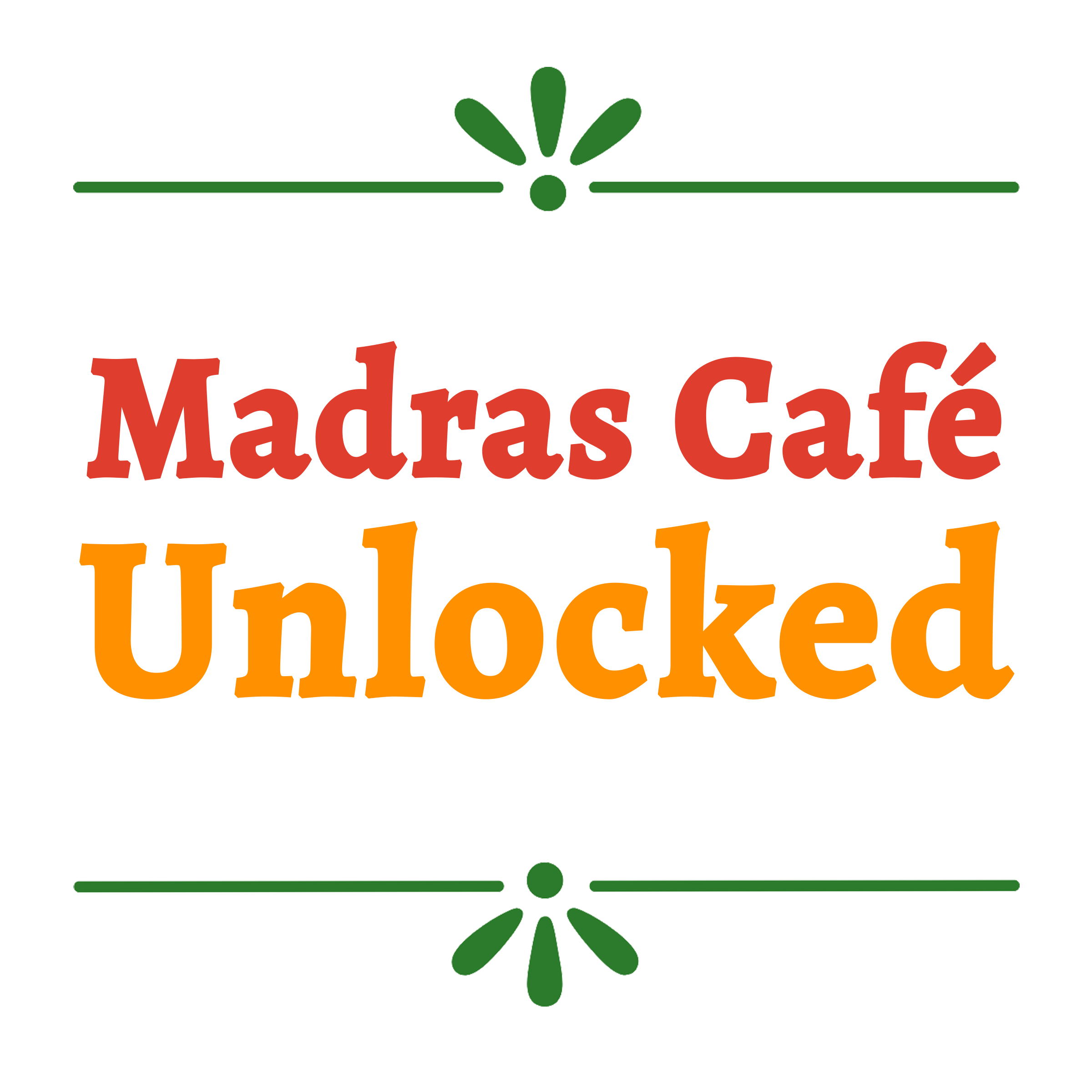 Hosted By Madras Cafe Unlocked